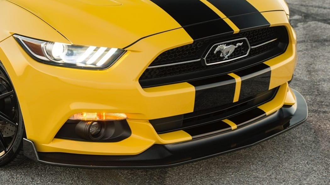 Hennessey Ford Mustang convertible nose