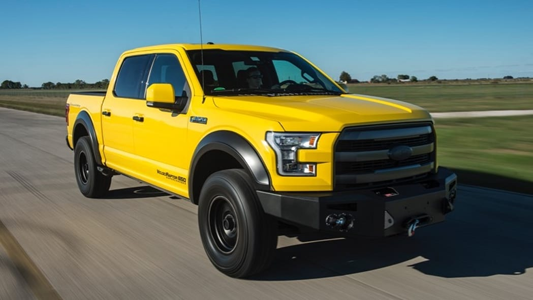 Hennessey Ford F-150 VelociRaptor 650 rolling front 3/4