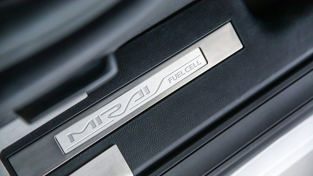 Toyota Mirai Back to the Future Concept door sill plate