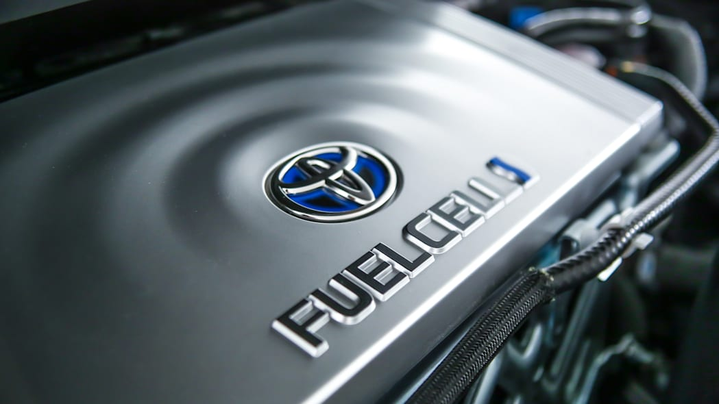 Toyota Mirai Back to the Future Concept fuel cell motor