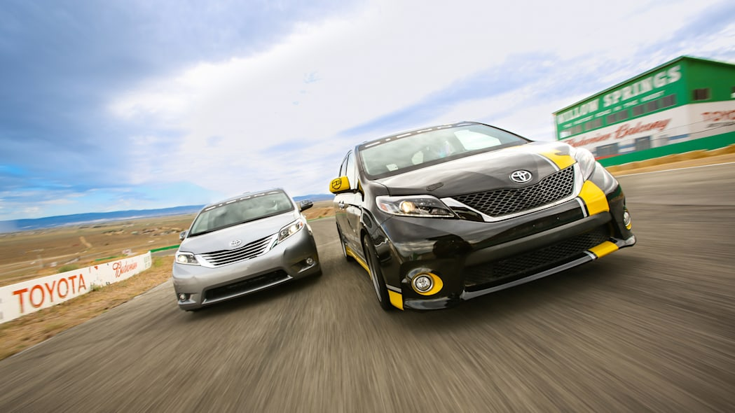 Toyota Sienna R-Tuned Concept duo track front