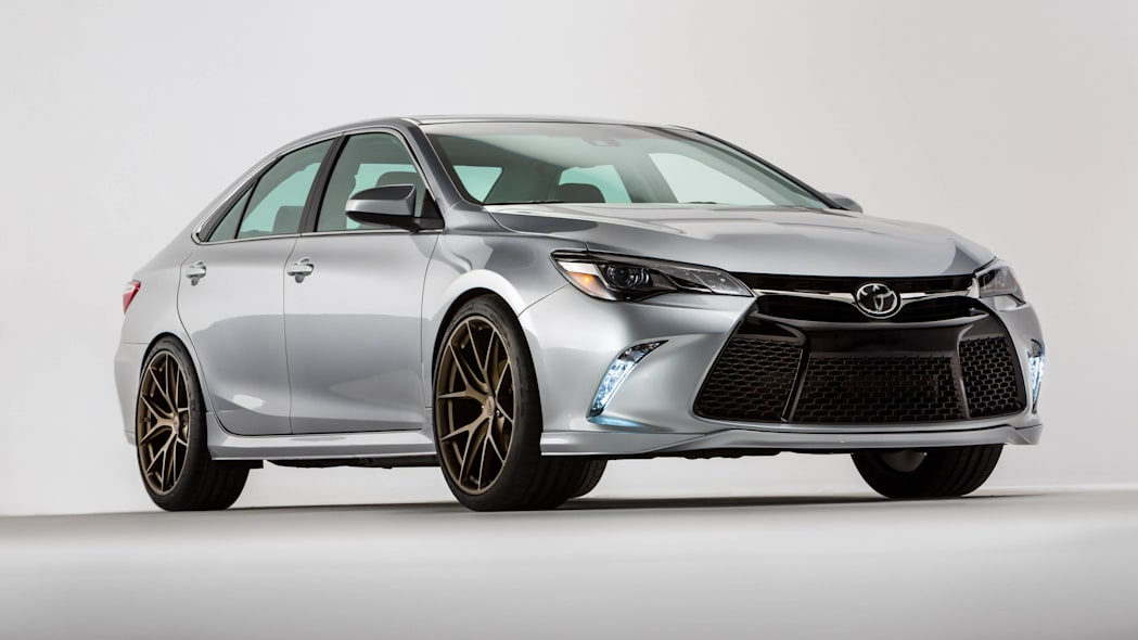 Toyota Camry TRD front 3/4