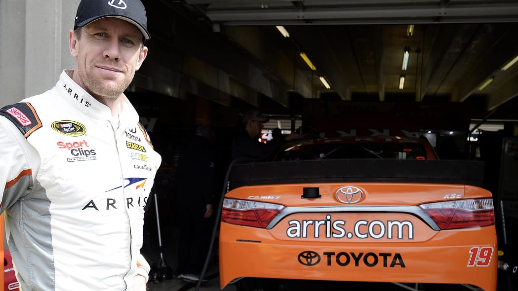 Carl Edwards with 2015 Toyota Camry #19