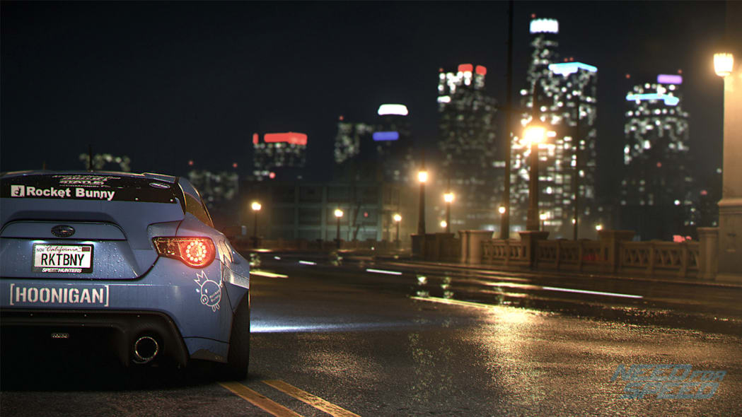 subaru brz hoonigan drifting la video game need for speed