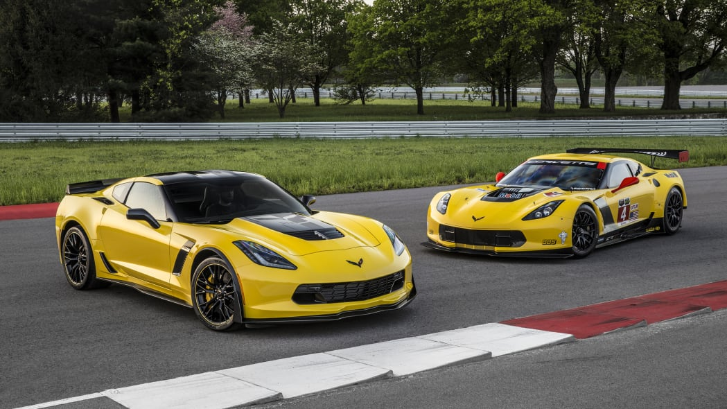 2016 Chevy Corvette Z06 C7.R Edition static