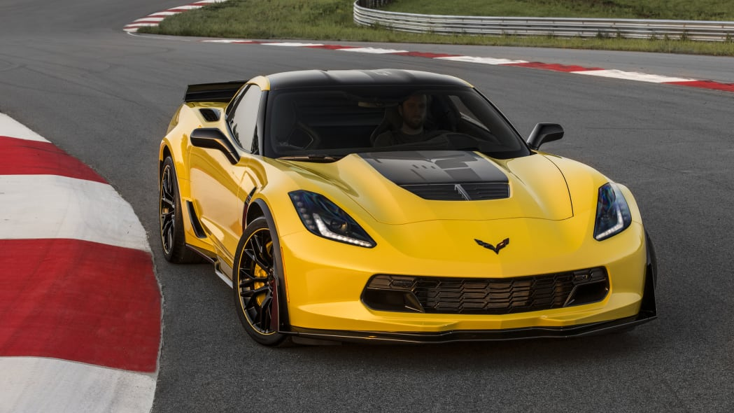 2016 Chevy Corvette Z06 C7.R Edition front