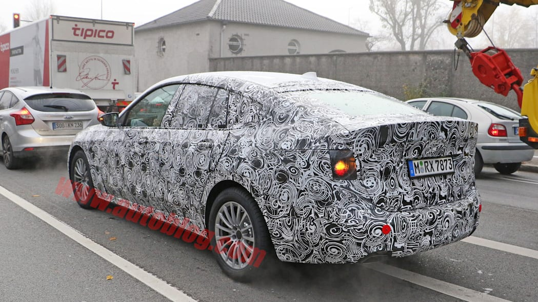 spied camo hatchback tail bmw 5 series gt
