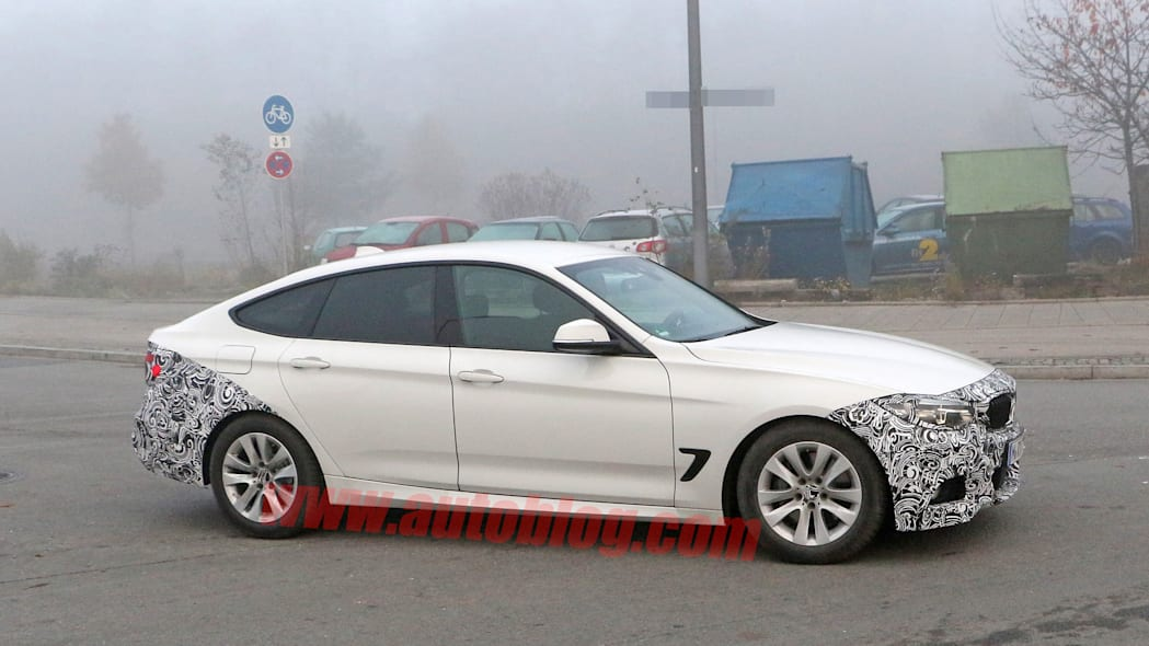 spied facelift refresh bmw gran turismo 3 series