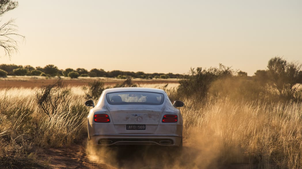 Bentley Continental GT Speed in the Outback