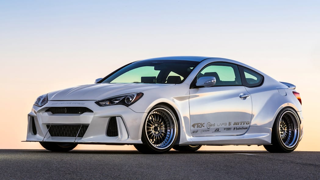 Hyundai Genesis Coupe Solus by ARK Performance