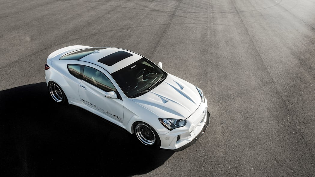Hyundai Genesis Coupe Solus by ARK Performance above