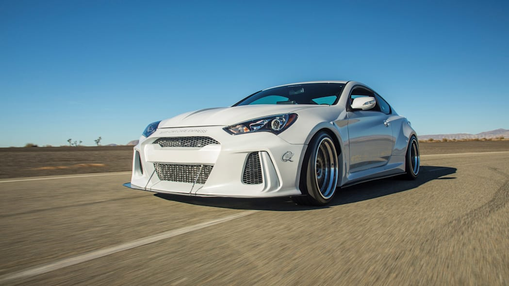 Hyundai Genesis Coupe Solus by ARK Performance moving