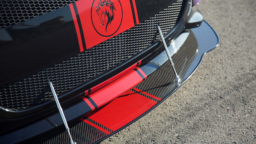 Hyundai Veloster Turbo R-Spec by Blood Type Racing front splitter