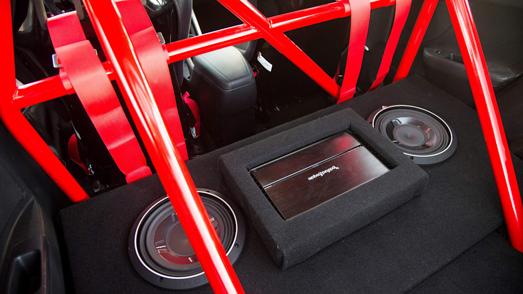 Hyundai Veloster Turbo R-Spec by Blood Type Racing audio roll cage