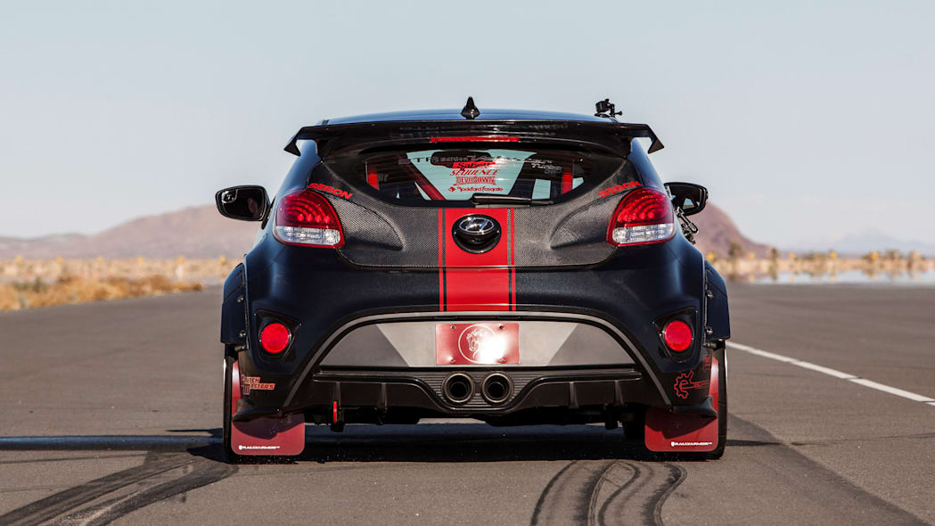 Hyundai Veloster Turbo R-Spec by Blood Type Racing rear
