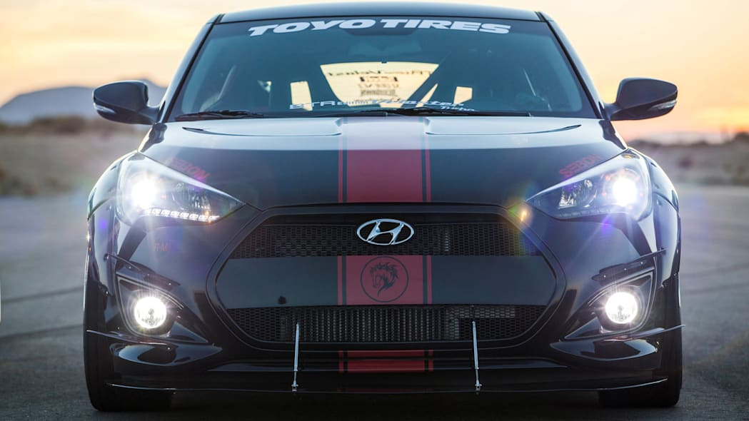 Hyundai Veloster Turbo R-Spec by Blood Type Racing front