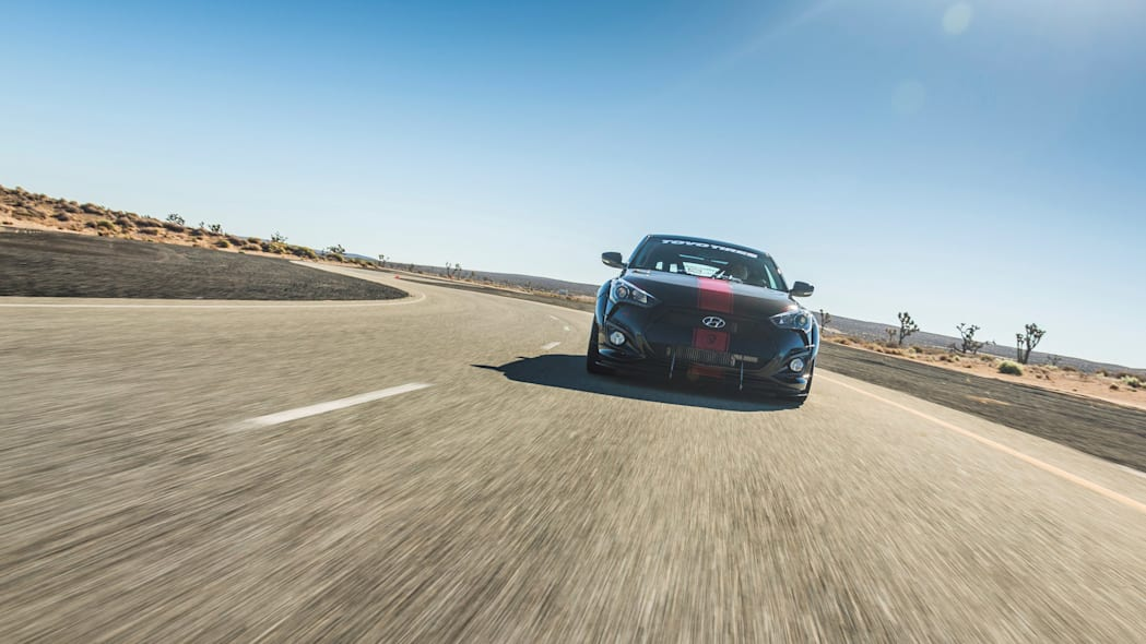 Hyundai Veloster Turbo R-Spec by Blood Type Racing  track