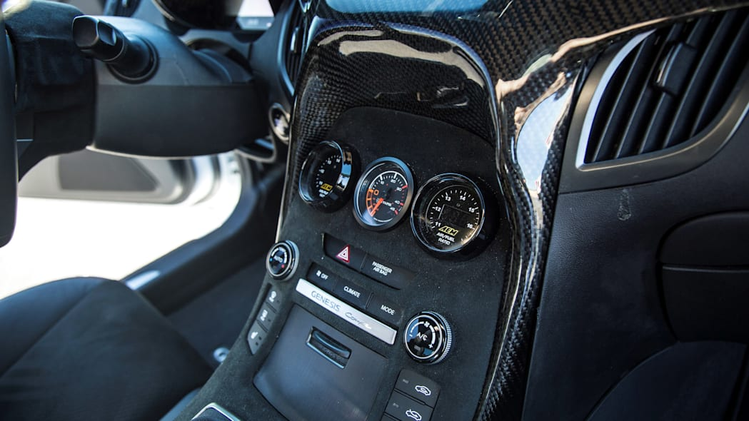 Hyundai Genesis Coupe TJIN Edition dashboard