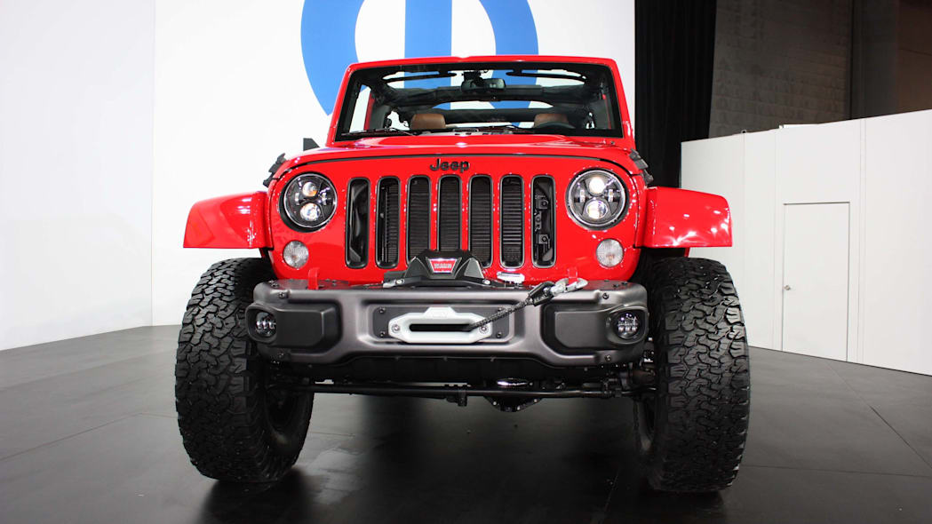 jeep wrangler red rock grille