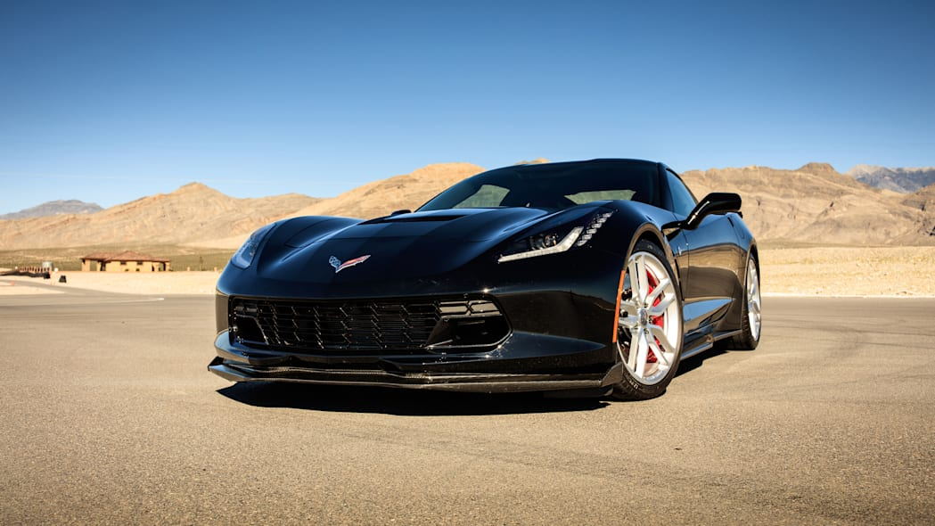 Chevy Corvette Stingray with Performance Parts at Spring Mountain