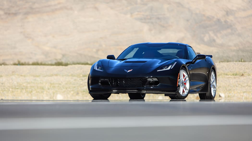 Chevy Corvette Stingray with Performance Parts