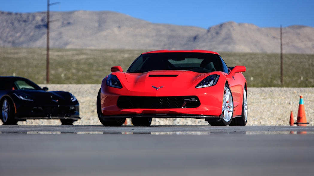 Chevy Corvette Stingray with Performance Parts Ron Fellows