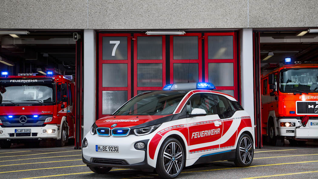 BMW i3 fire department germany