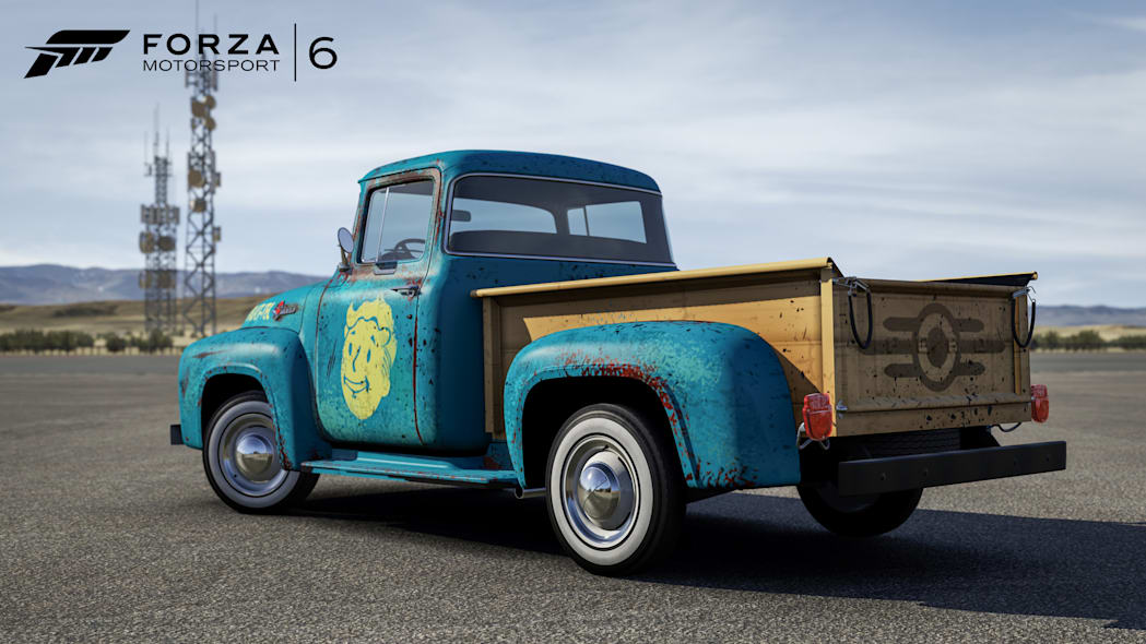 1956 ford f100 fallout 4 edition rear