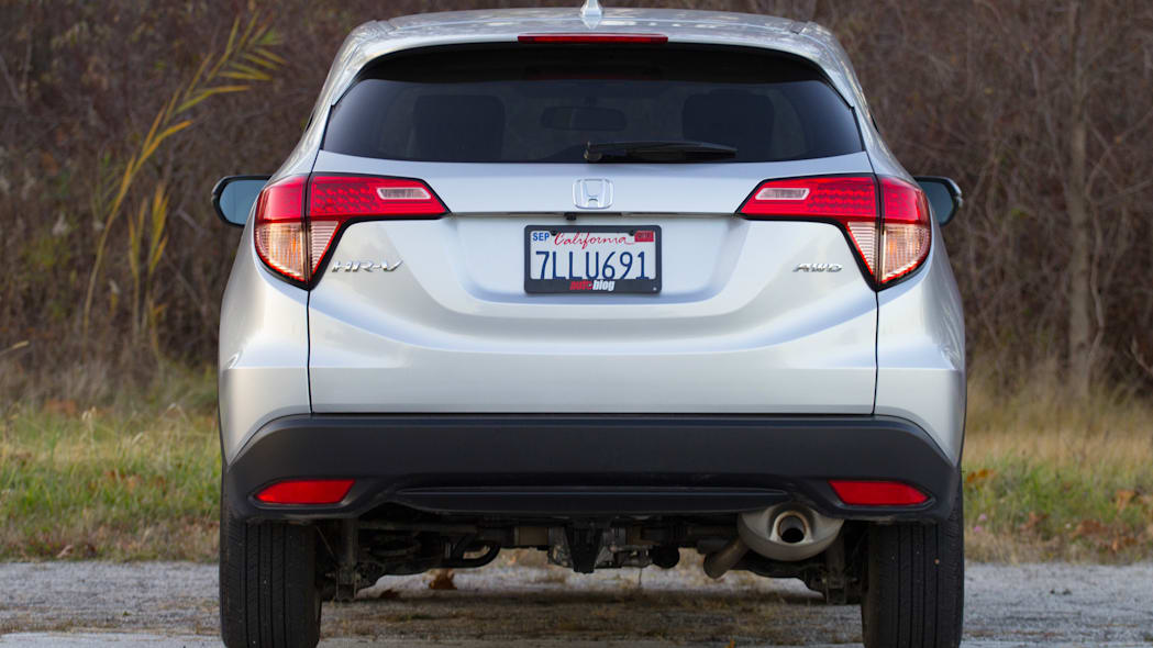 2016 Honda HR-V dead rear