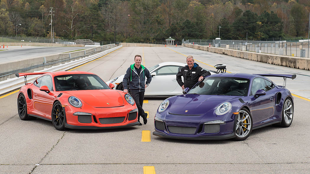 2016 Porsche 911 GT3 RS with David Donohue and Hurley Haywood
