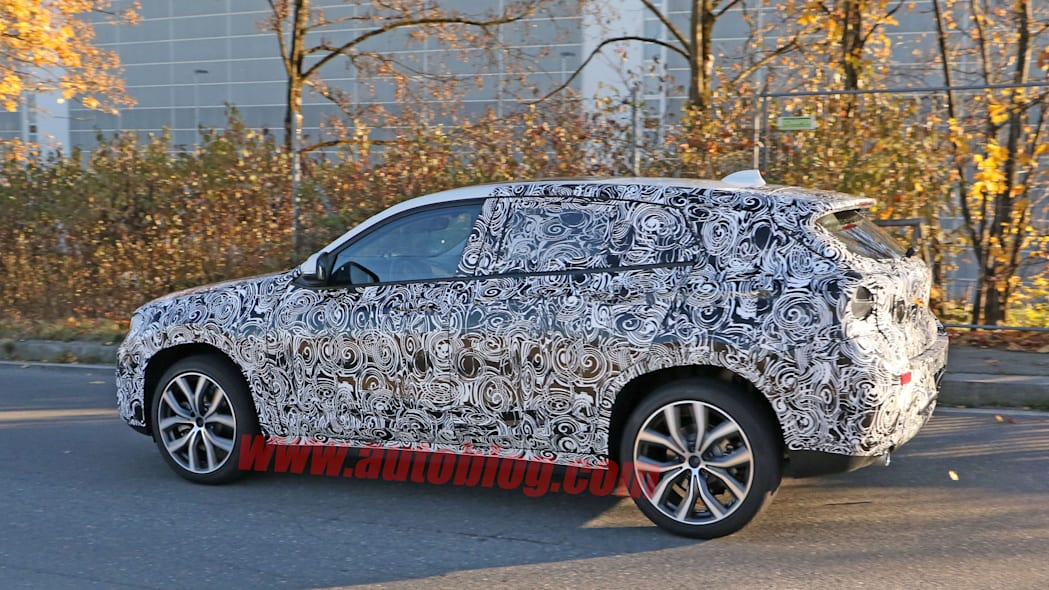 x2 bmw crossover spied camouflage