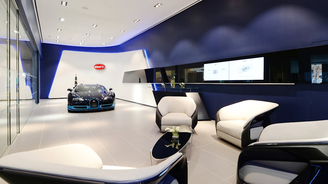 Bugatti Manhattan showroom