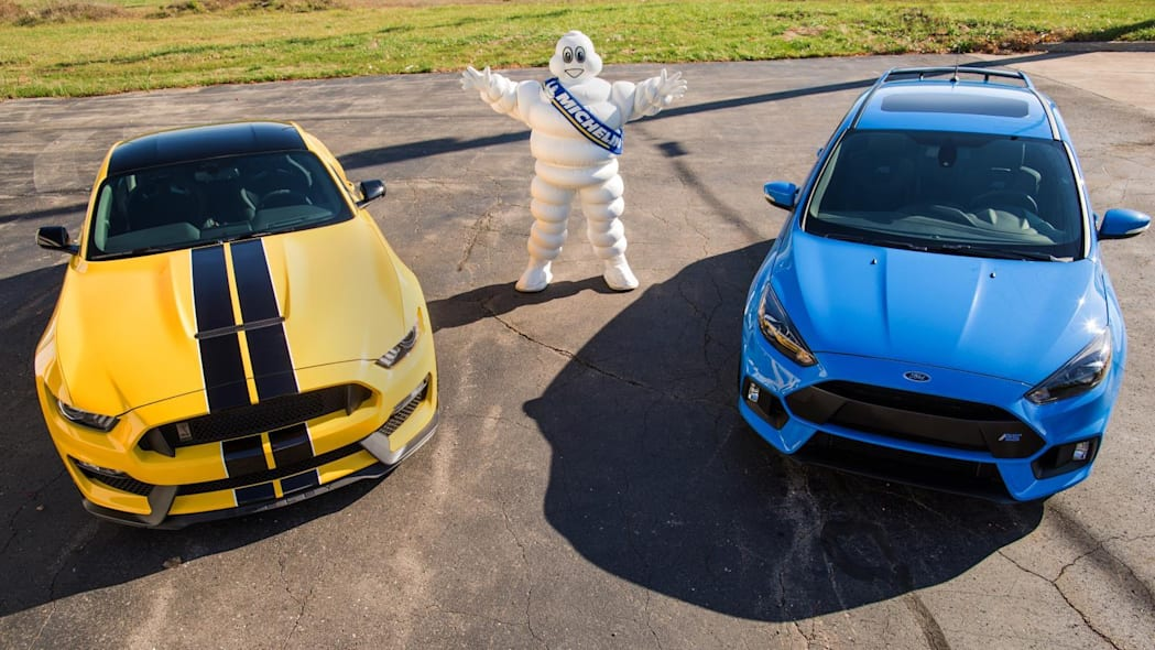 Ford Shelby GT350 Focus RS Michelin
