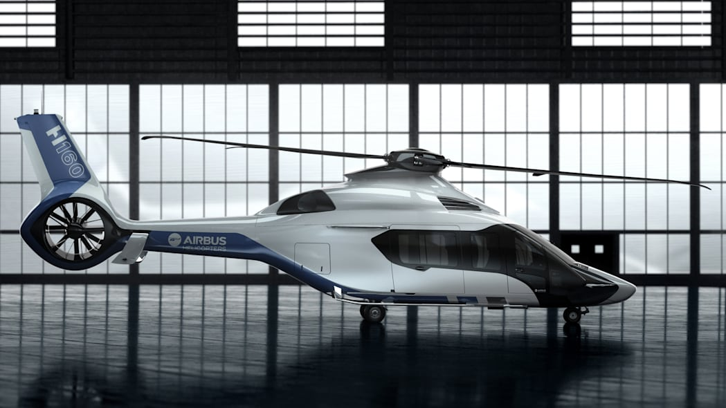 Airbus Helicopters H160 Peugeot Design Lab