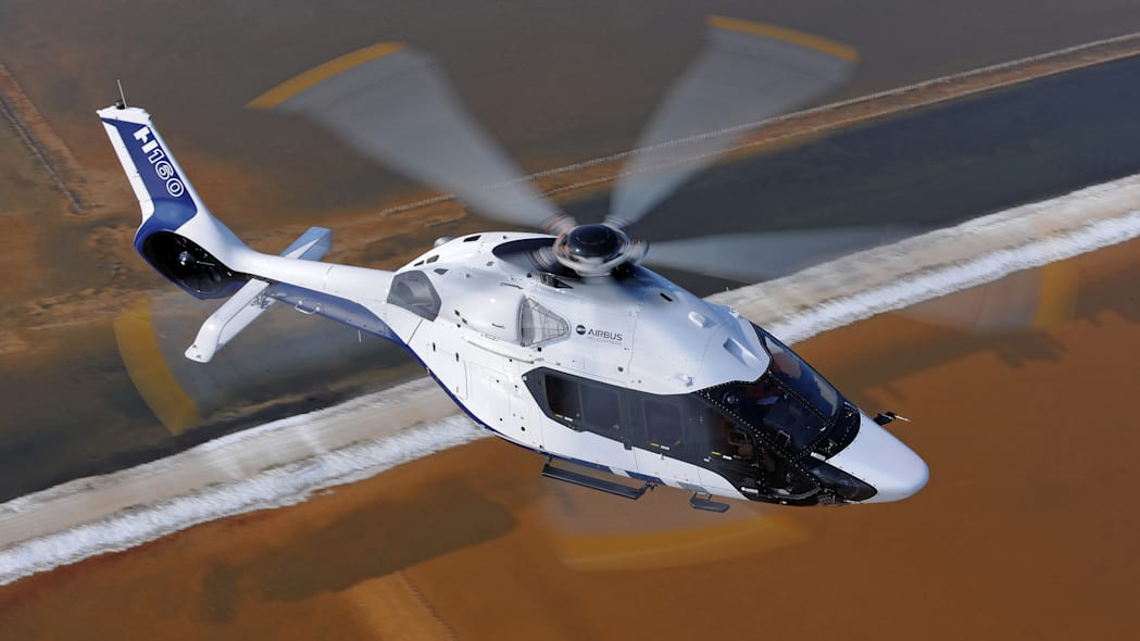 Airbus H160 Helicopter by Peugeot Design Lab