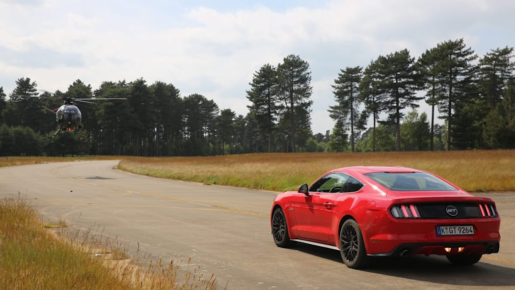 Ford Mustang Ben Collins Stunt Driver
