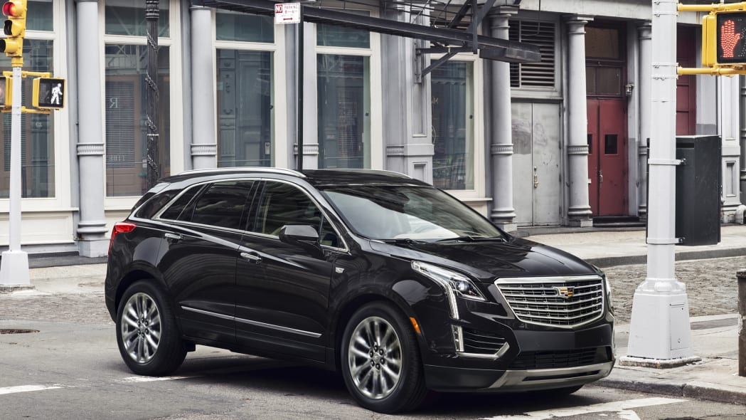 xt5 crossover cadillac parked new york greene st