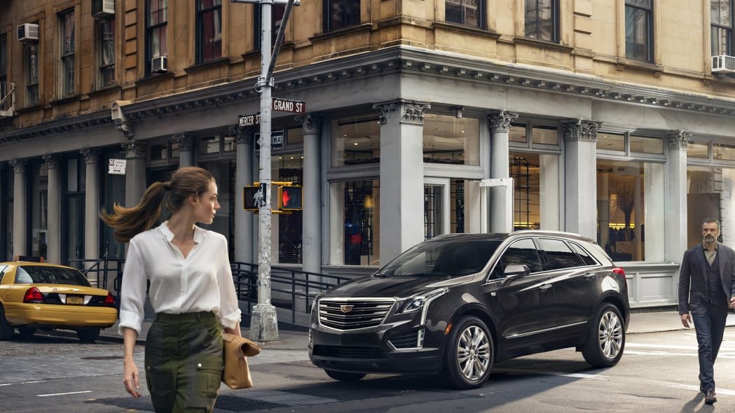 xt5 cadillac parked grand st new york