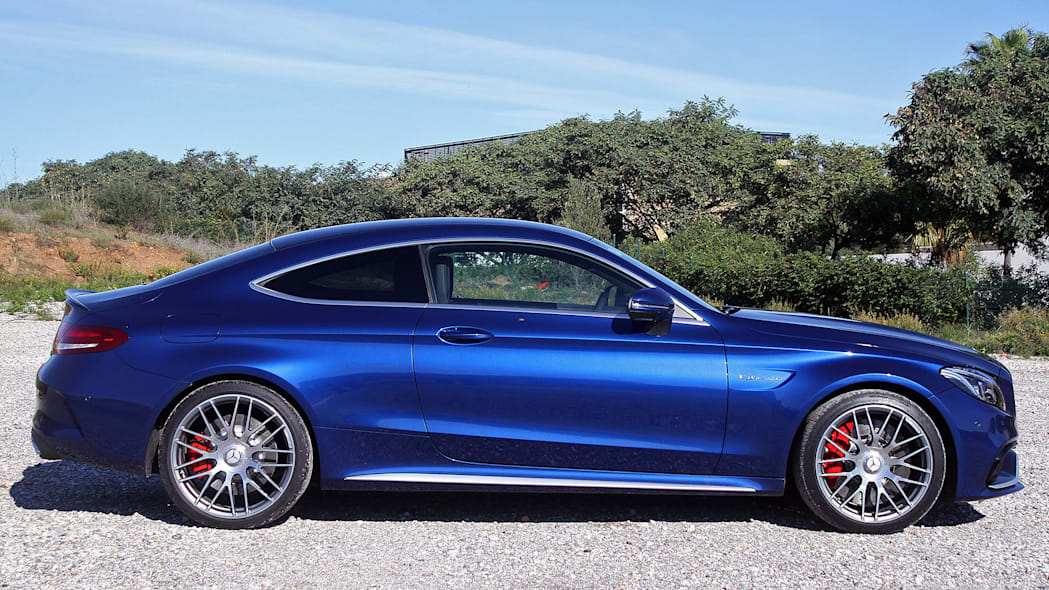 2017 Mercedes-AMG C63 Coupe side view