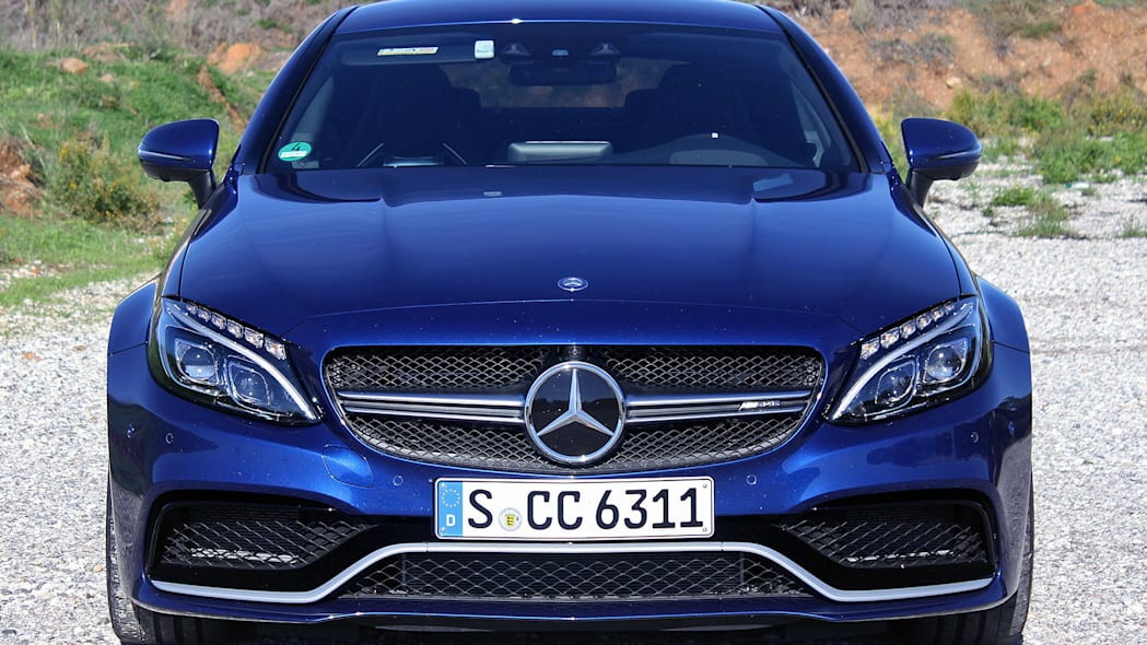 2017 Mercedes-AMG C63 Coupe front view