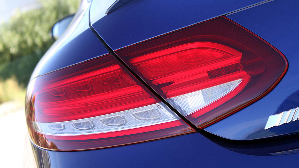 2017 Mercedes-AMG C63 Coupe taillight