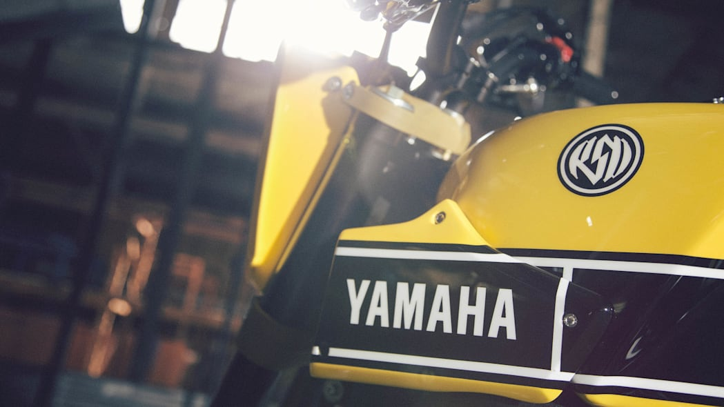 Yamaha 900 Faster Wasp Roland Sands Design detail