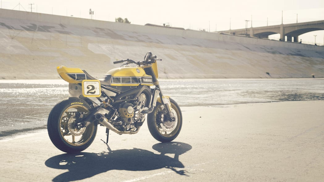 Yamaha 900 Faster Wasp Roland Sands Design rear 3/4
