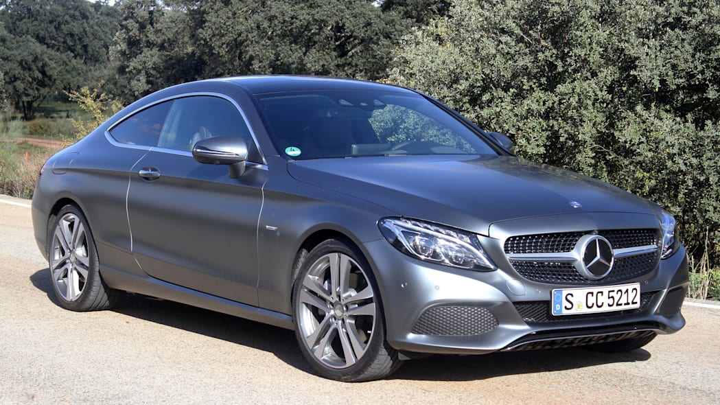 2017 mercedes c300 coupe side