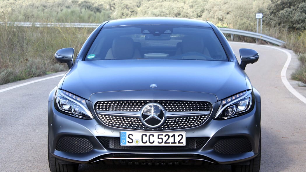 2017 mercedes c300 coupe grille