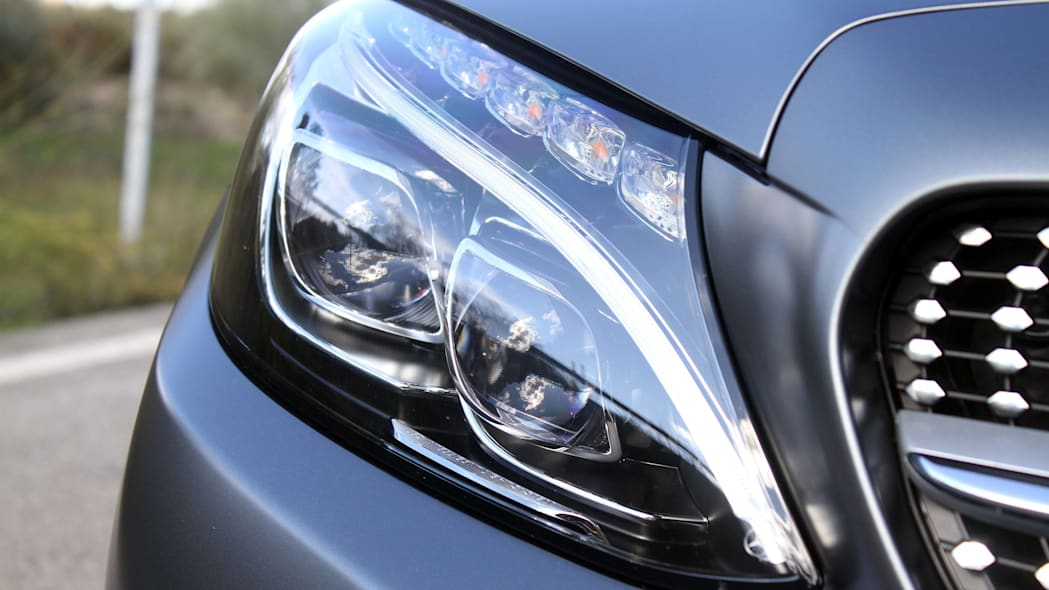 2017 mercedes c300 coupe headlights
