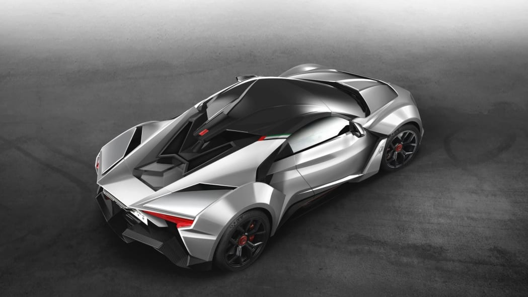 W Motors Fenyr SuperSport rear 3/4