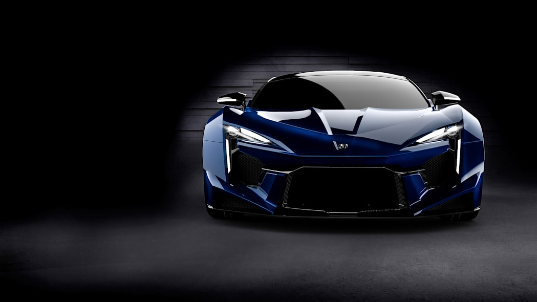 W Motors Fenyr SuperSport blue front