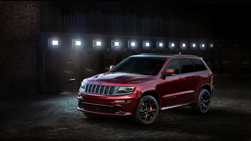 2016 Jeep Grand Cherokee SRT Night front 3/4