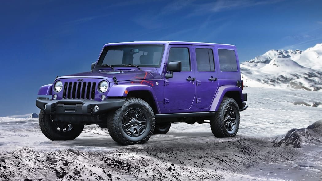 2016 Jeep Wrangler Backcountry front 3/4